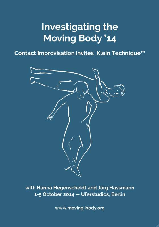 poster investigating the moving body